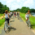 Rallye vélos et caoës