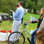 Rallye vélos et canoës et géocaching (gps adventure)