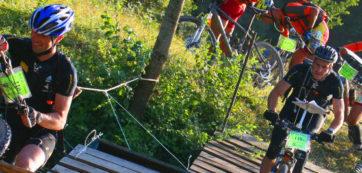 rallye challenge VTT en forêt de Chinon