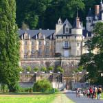 chateau rigny ussé à vélo groupe sémianire