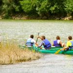 Séminaire d'entreprise en canoës