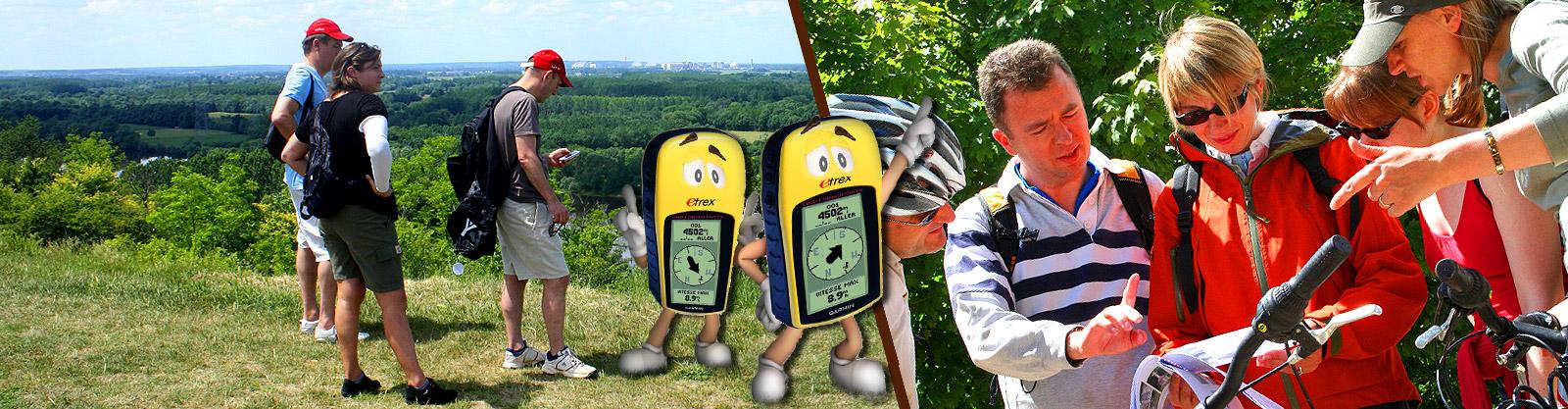 Géocatching GPS Adventure des temps modernes
