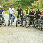 team-building rallye vélos grand groupe