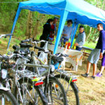 team-building rallye vélos buffet champetre